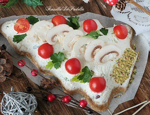 Albero di Natale salato, ricetta di Natale