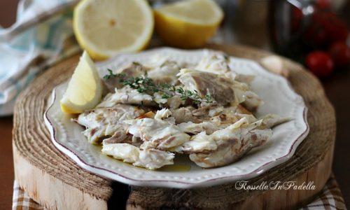Branzino al forno al timo e limone