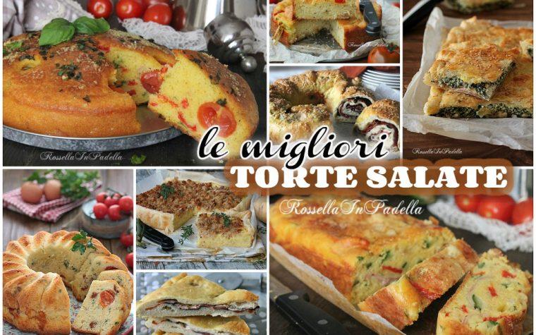 Le migliori ricette di TORTE SALATE per gite e scampagnate