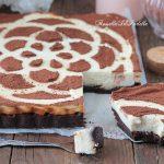 Torta brownie cremosa