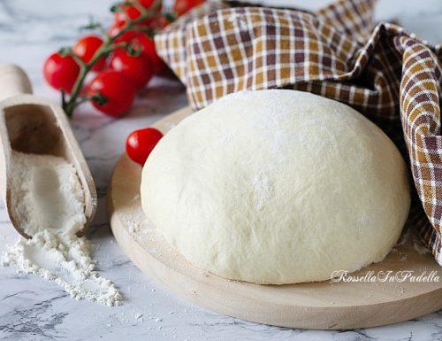 Impasto al burro per pizze e rosticceria