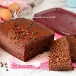 Plumcake al cioccolato al microonde