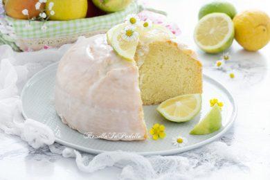 Torta al limone glassata velocissima