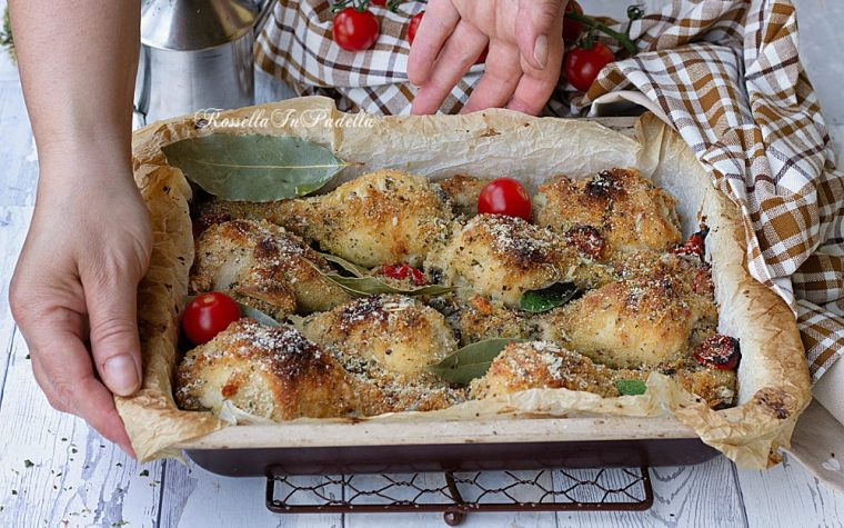 Pollo arrosto sabbioso