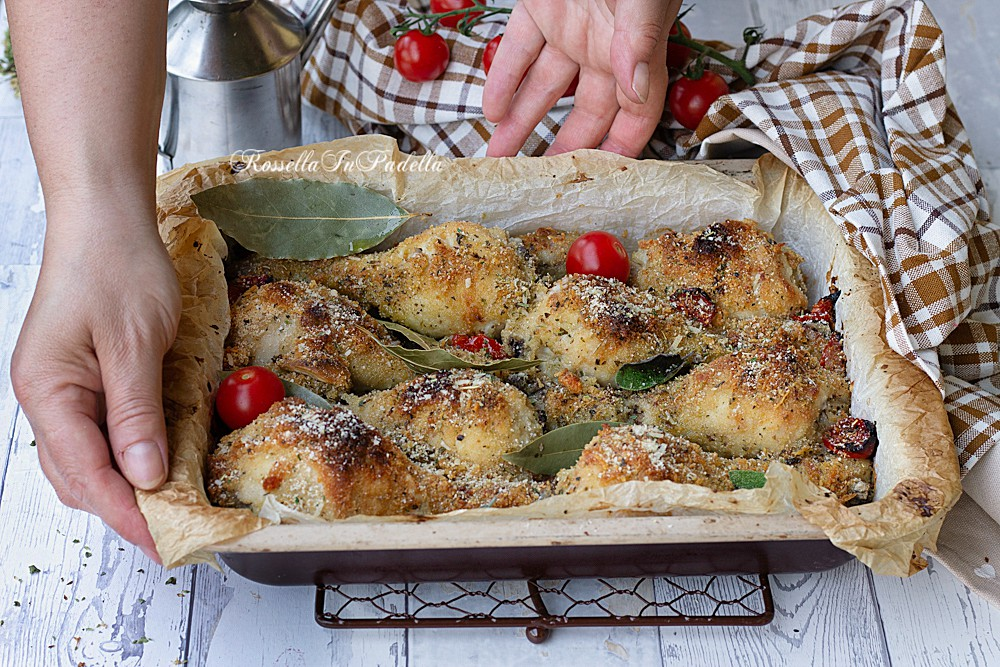 Pollo sabbioso al forno