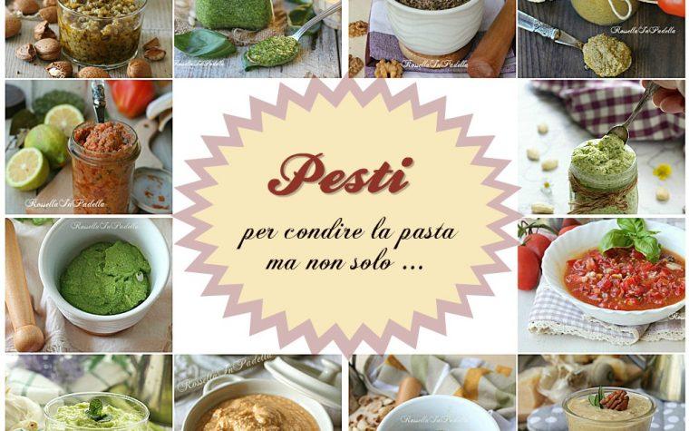 Pesti per condire la pasta ma non solo