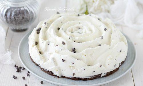 Cheesecake alla stracciatella