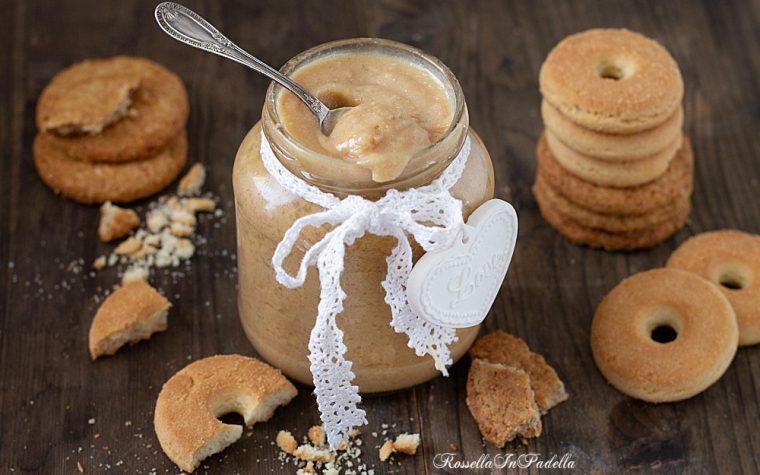 Crema di biscotti (butter cookies)