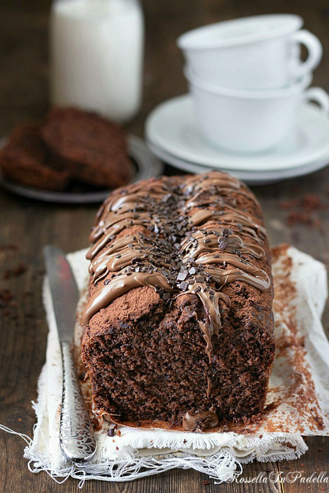 Plumcake 5 minuti al cioccolato - ricetta velocissima