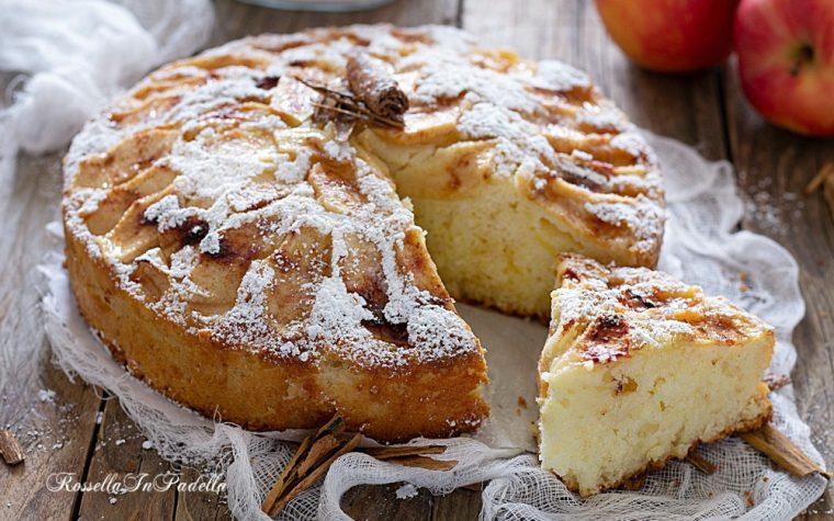 Torta di mele 5 minuti – senza burro e senza fruste elettriche