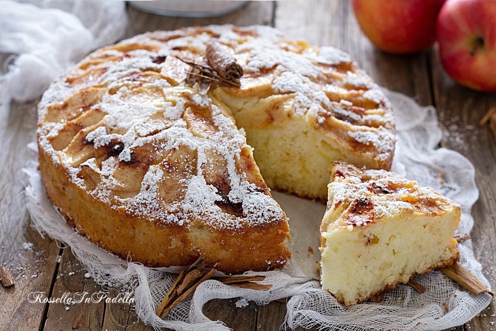 Ricetta Torta Di Mele No Burro.Torta Di Mele 5 Minuti Torta Soffice E Buonissima Che Si Prepara In 5 Minuti