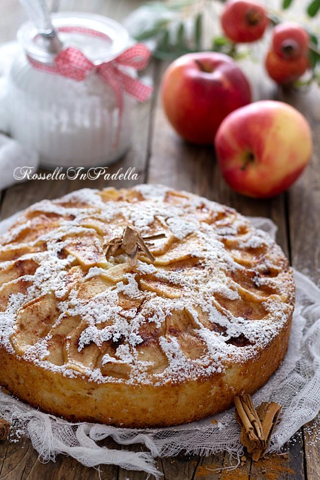 Torta di mele 5 minuti