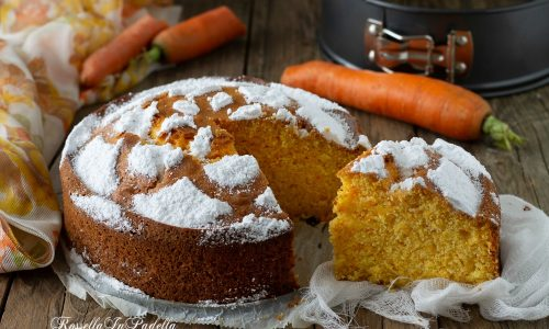 Torta di carote, ricetta facilissima