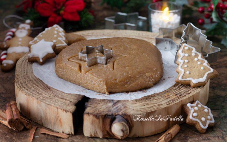 Pasta frolla speziata per biscotti di Natale