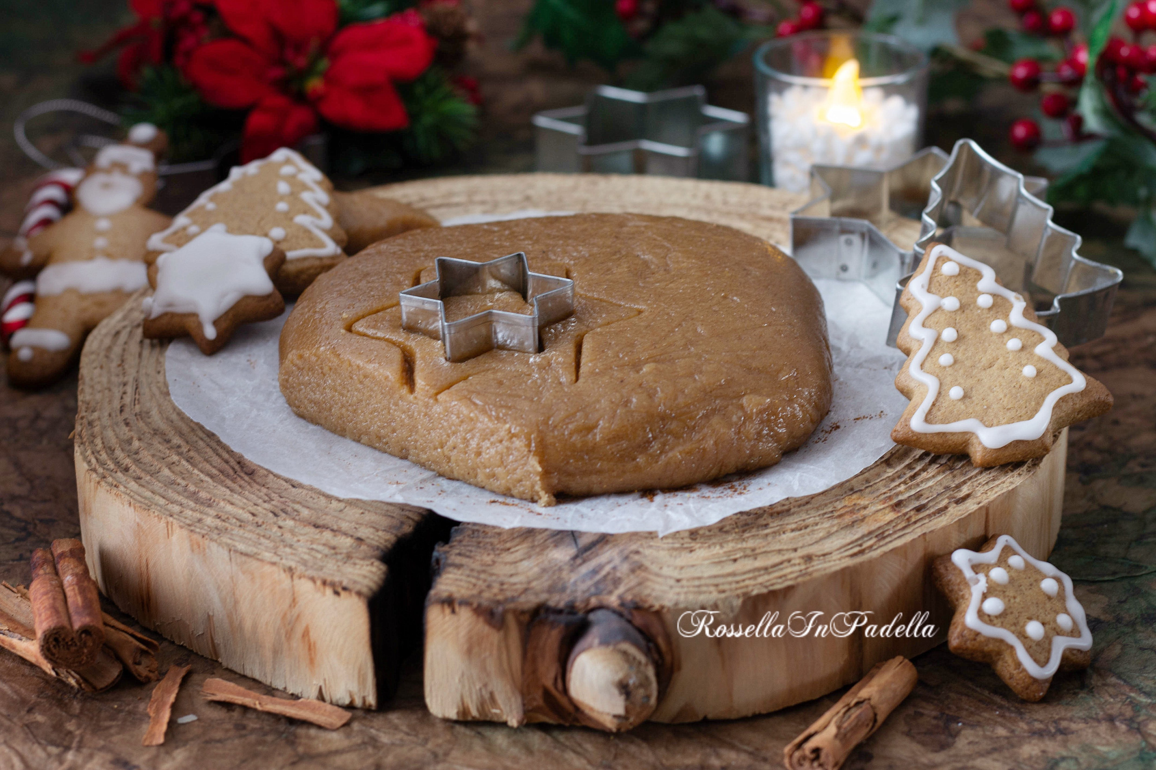 Pasta frolla speziata per biscotti di Natale, anche ginger bread