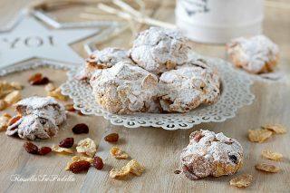 Rose del deserto, biscotti con cornflakes