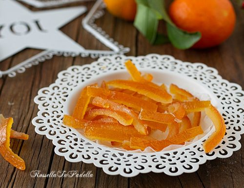 Scorze d'arancia candite