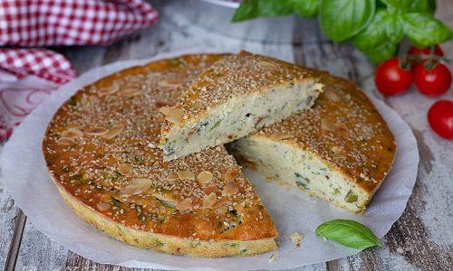 Torta 5 minuti salata, con broccoli e salsiccia