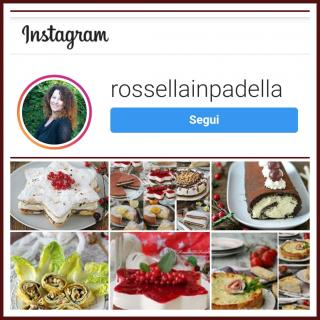 Segui Rossella In Padella su INSTAGRAM