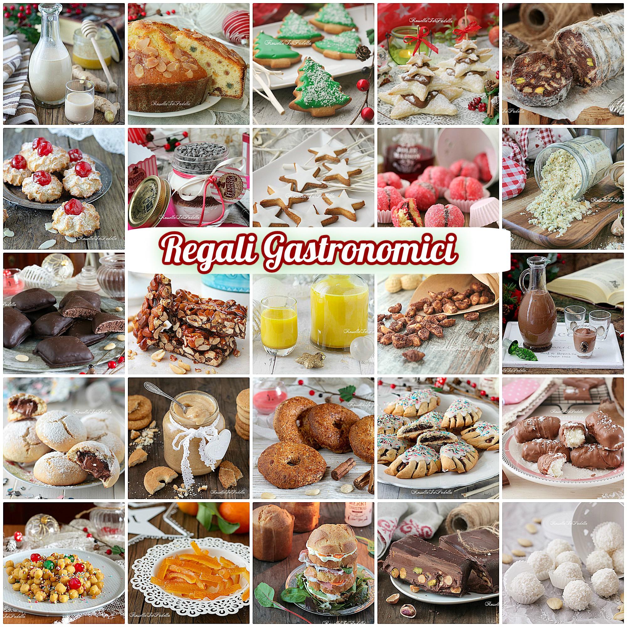 Regali gastronomici per Natale, più di 50 idee di ricette da regalare
