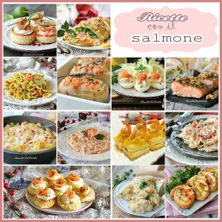 Ricette con il salmone -antipasti, primi e secondi con il salmone