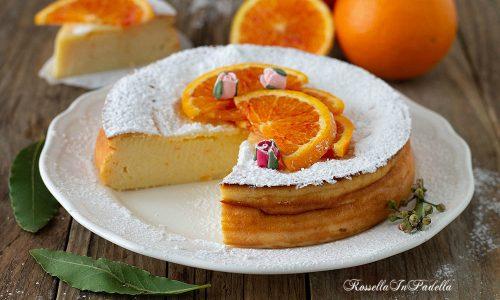 Moelleux all'arancia, senza burro senza farina