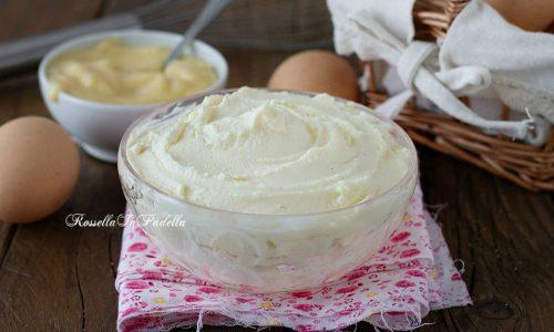 Crema al mascarpone e crema pasticcera