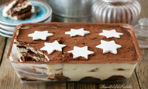 TIRAMISU con pan di stelle