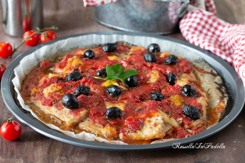 Carne alla pizzaiola al forno