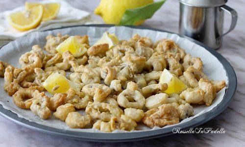 Calamari pastellati al forno