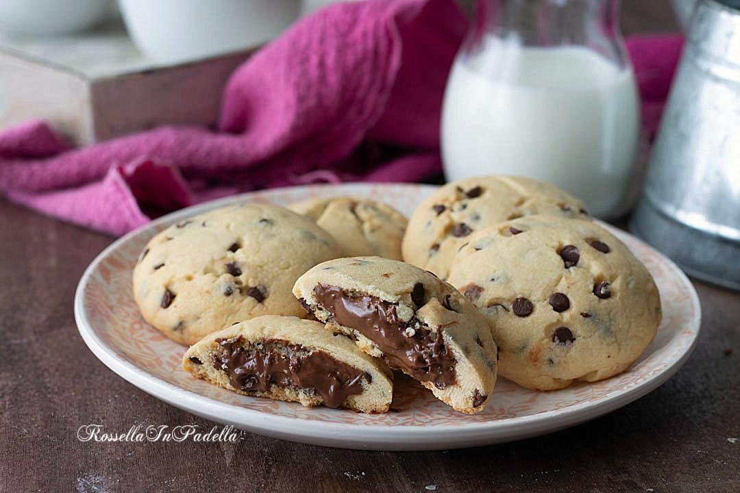 ricetta Cookies con la nutella
