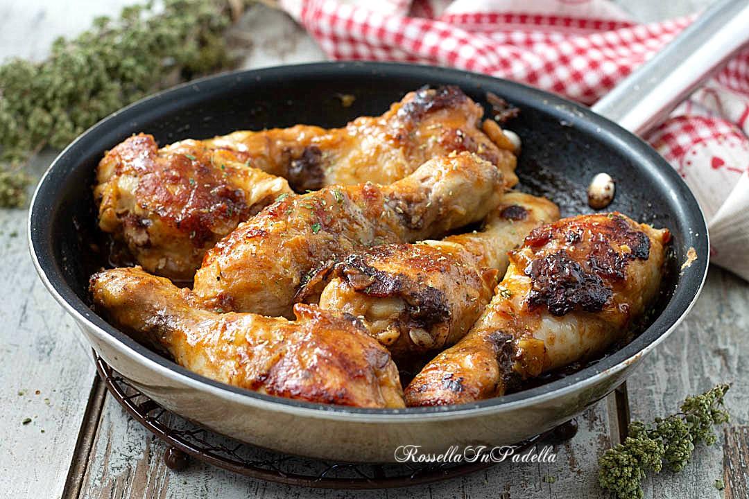 pollo glassato al marsala