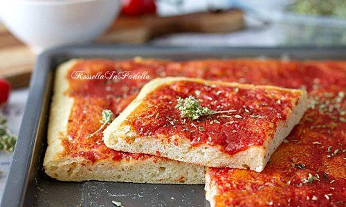 Pizza ad impasto molle al cucchiaio