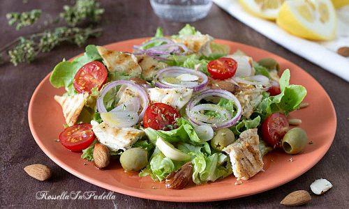 Insalata di pollo alla greca