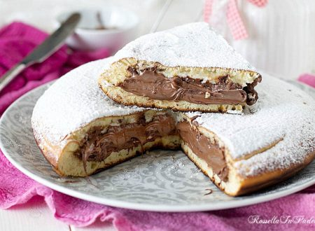 Torta Pancake farcita con nutella