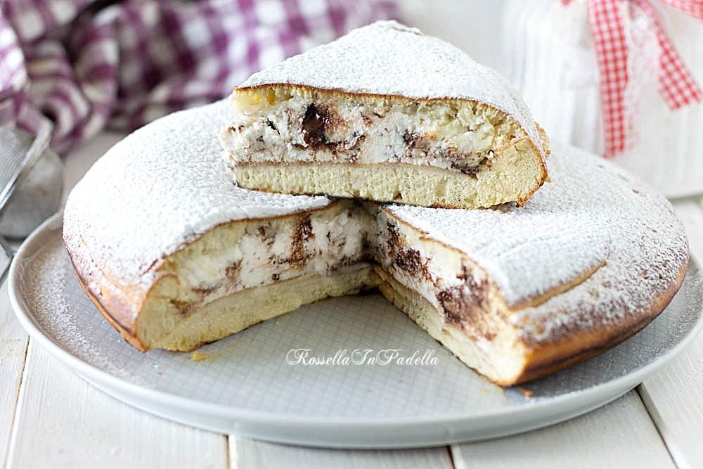 ricetta torta pancake