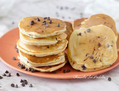 Cookie pancakes