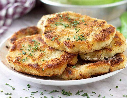 COTOLETTE di RICOTTA ricetta gustosa