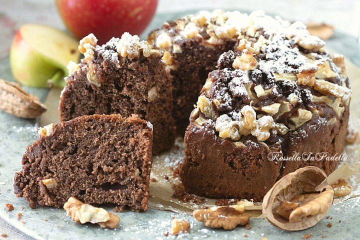 Torta di mele al cacao ricetta