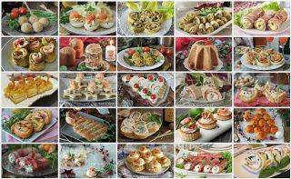 50 Ricette di ANTIPASTI per Natale