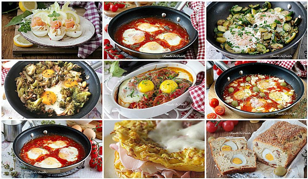 9 ricette per CUCINARE LE UOVA