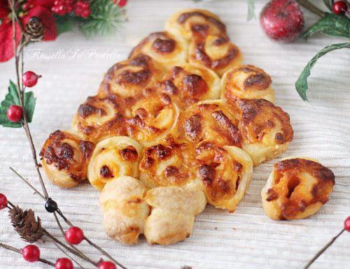 Albero di Natale Rose di pizza