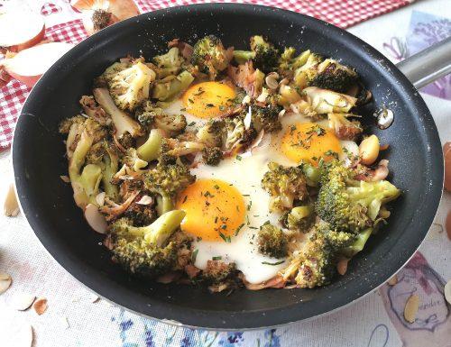 Uova e broccoli ripassati
