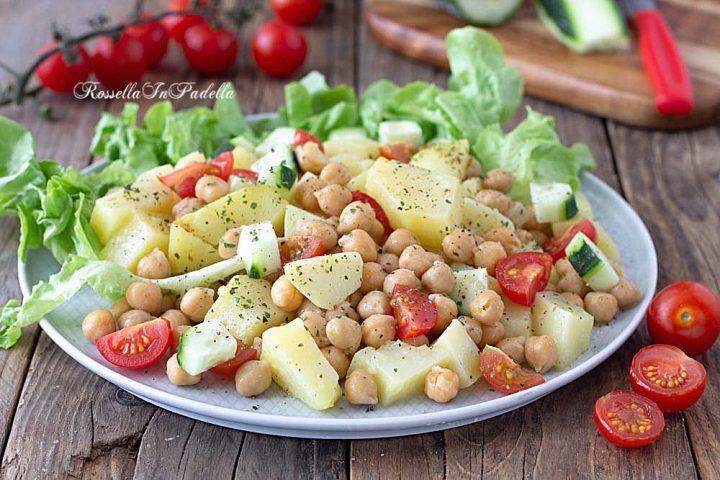 Ricetta Ceci e patate in insalata