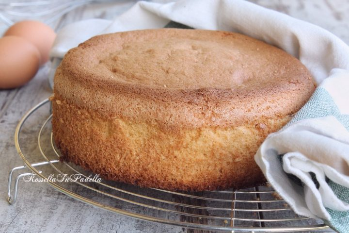 Ricetta Pan di Spagna IMPASTO FURBO al cucchiaio