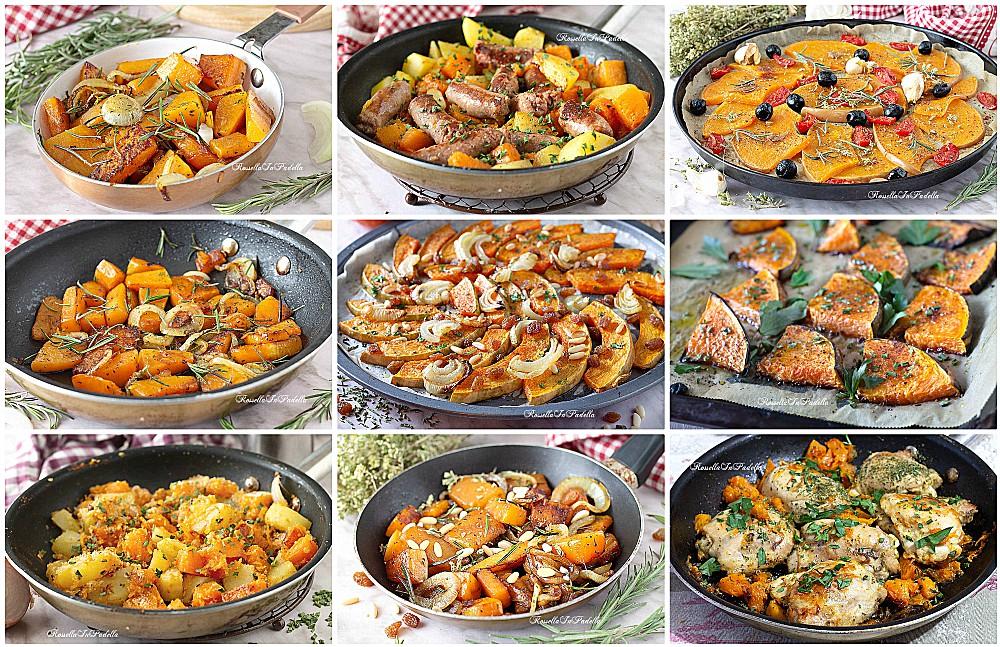 10 RICETTE per cucinare la ZUCCA NUOVE e GUSTOSE