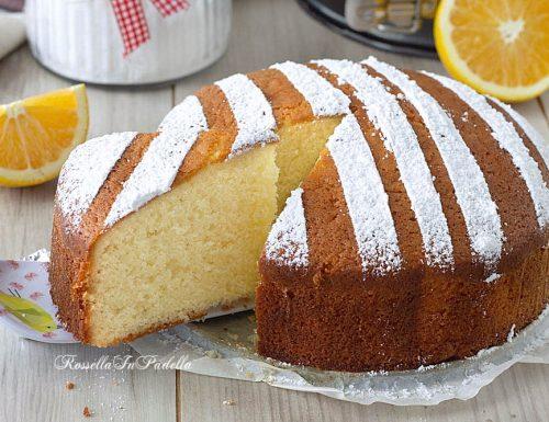 Torta 12 cucchiai all'arancia