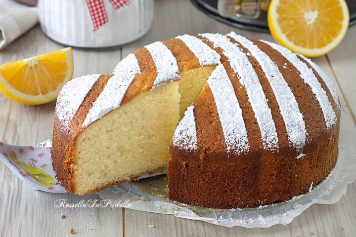 Ricetta Torta 12 cucchiai all'arancia