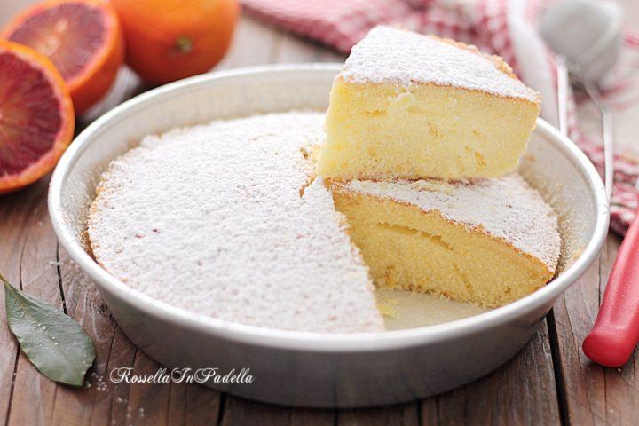 Ricetta Torta PARADISO all'arancia