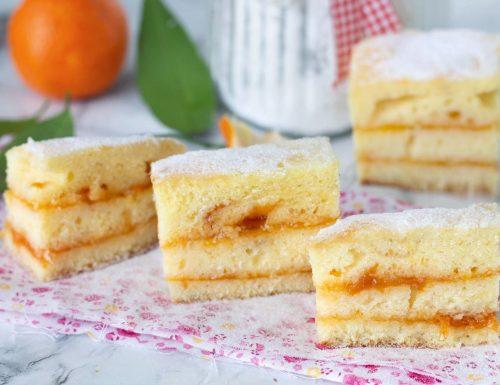 Tortine all'arancia e marmellata